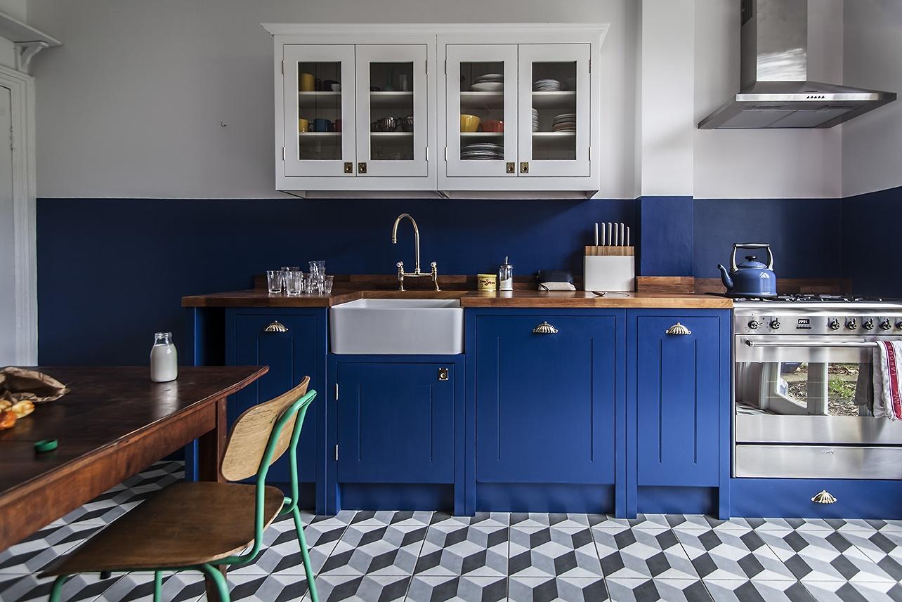 British-Standard-DIY-bright-blue-kitchen-London-1